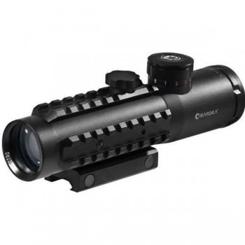 BARSKA ELECTRO SIGHT 4x30 IR,MIL DOT,DUAL COLOR