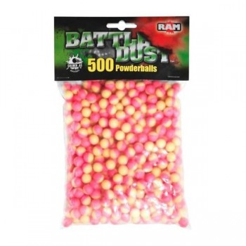 BATTLE DUST POWDERBALLS Cal.43 Pembe/Sarı 1/500