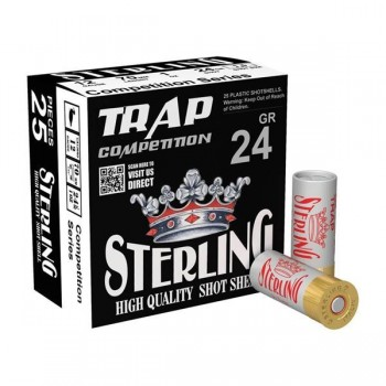 FISEK STERLING 12CAL 24GR NO 7.5 TRAP SOFT